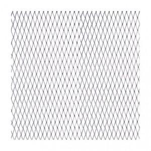Grotelės sidabr 100x25cm; 11x5mm