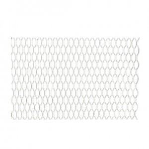 Grotelės sidabr.100x25cm; 16x7mm