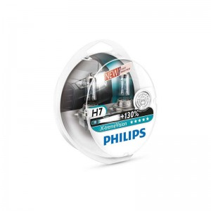 Philips lemputės 55W 12V H7 Philips X-treme Vision