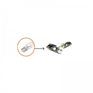 T10 SMD-W5W CAN BUS LED lemputės