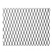 Grotelės juodos 100x25cm; 11x5mm