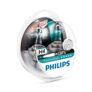 Philips X-treme Vision H4 +130%